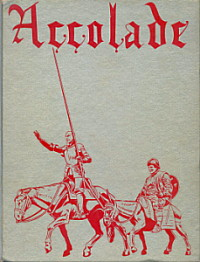 1965 Accolade (yearbook) Cover